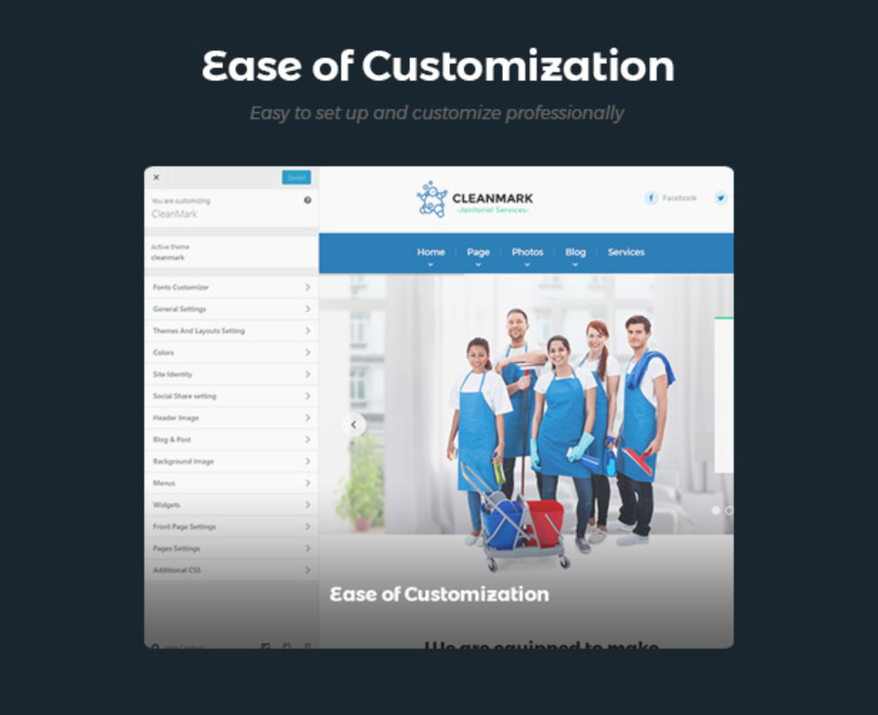 Cleanmark King Composer- Best Cleaning Service, Cleaning Company, Cleaning Business WordPress Theme