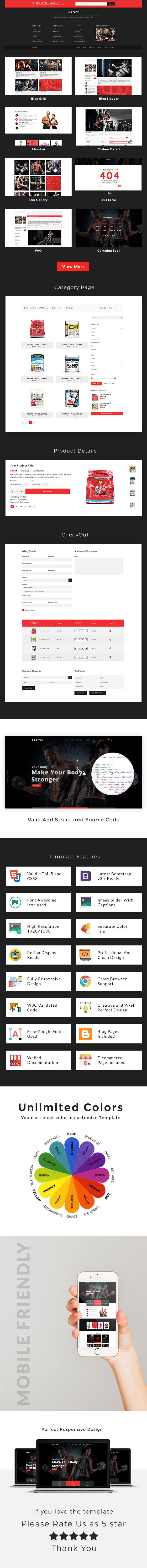 Vyayamshala - Gym & Fitness HTML5 Template - 2