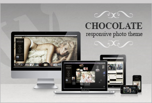 Chocolate WP – Creative / Photography WordPress Theme