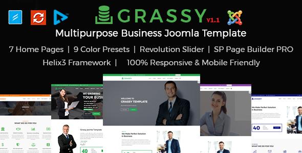 Grassy Joomla
