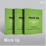 Mock-Up for Brochure / Catalog / Magazine - Photorealistic - A4 - 1