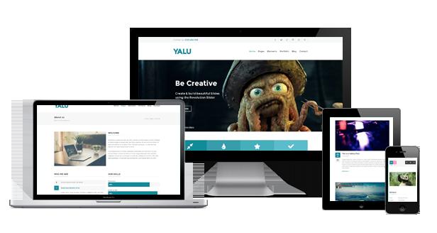 Yalu - Creative Multipurpose Template - Wordpress - 6