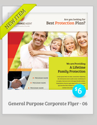 General Purpose Corporate Flyer Vol.06