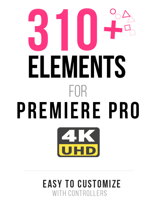 Motion Elements Pack for Premiere Pro - 8