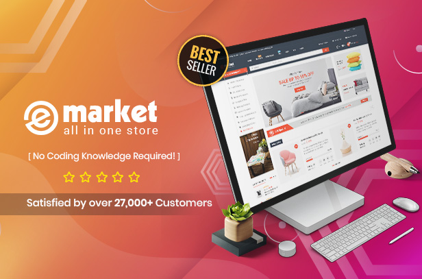 eMarket - Multi-purpose MarketPlace OpenCart 3 Theme (23+ Homepages
