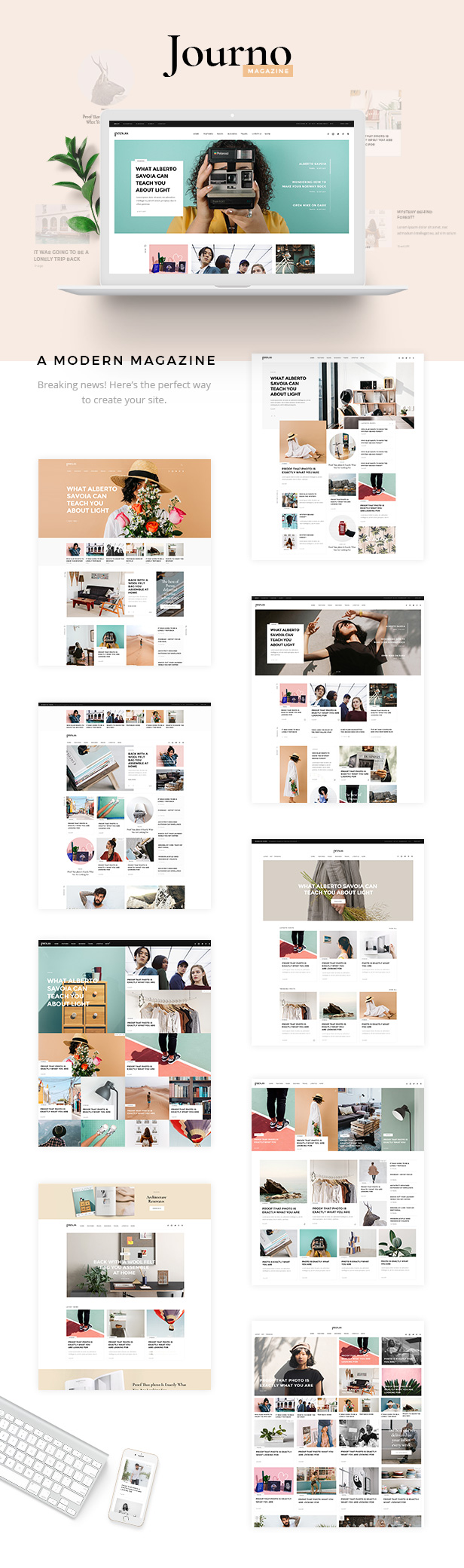 Journo - A Creative Magazine and Blog Theme