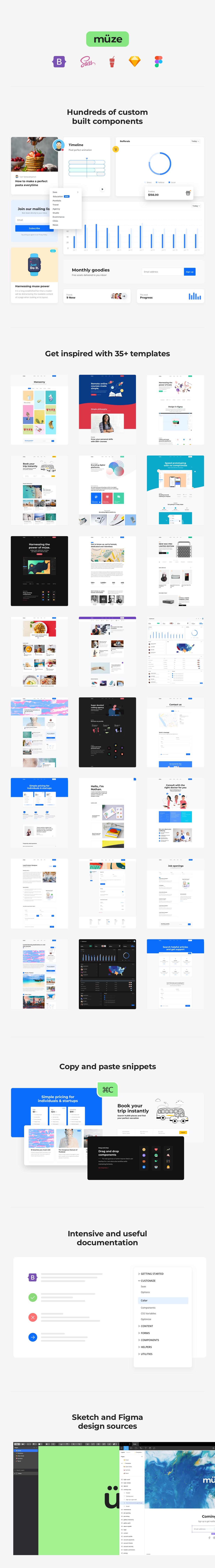 Muze - Multi-Purpose HTML5 Template - 1