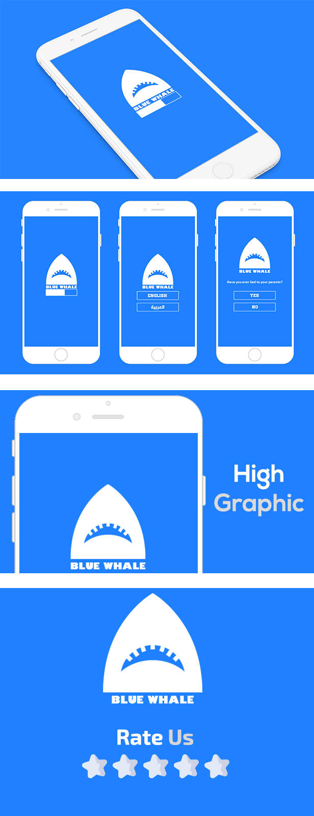 BLUE WHALE WITH ADMOB - IOS XCODE FILE - 2