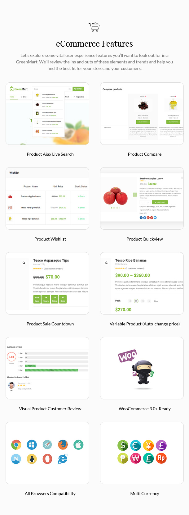 GreenMart – Organic & Food WooCommerce WordPress Theme - 14
