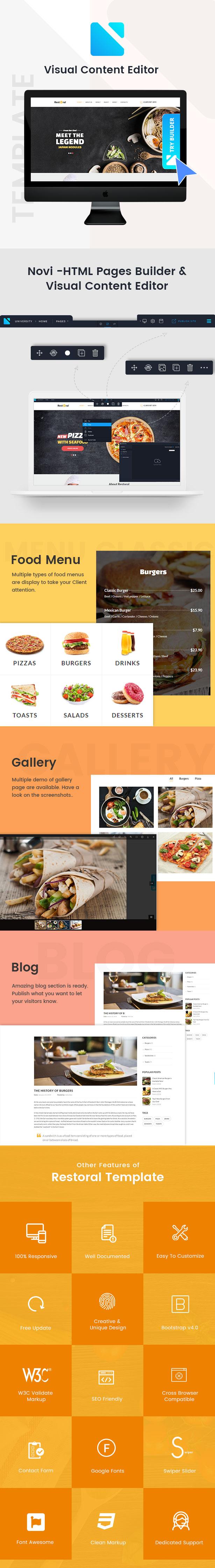 Restoral - Food & Restaurant HTML Responsive Bootstrap 4 Template - 2