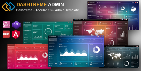 Bulona - Angular 10+ Admin Template - 1