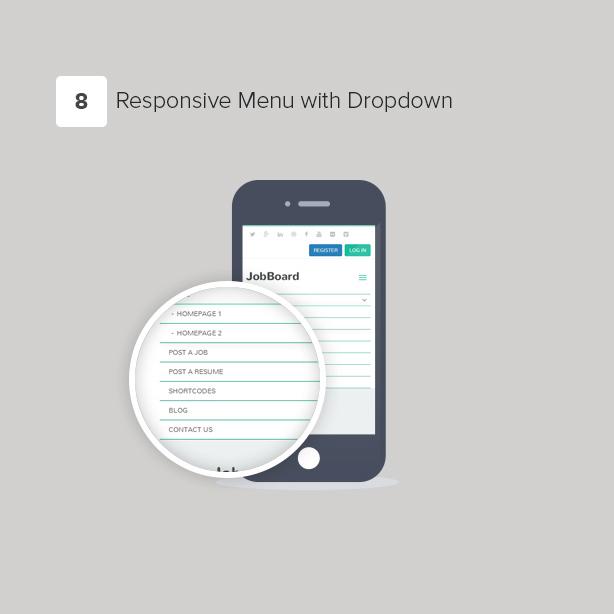 JobBoard - Responsive Recruitment Directory WordPress Theme - 9