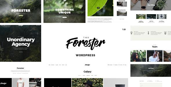 The Forester - A Creative WordPress Theme - Portfolio Creative