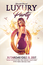 Birthday Party Flyer Template 1 - 13