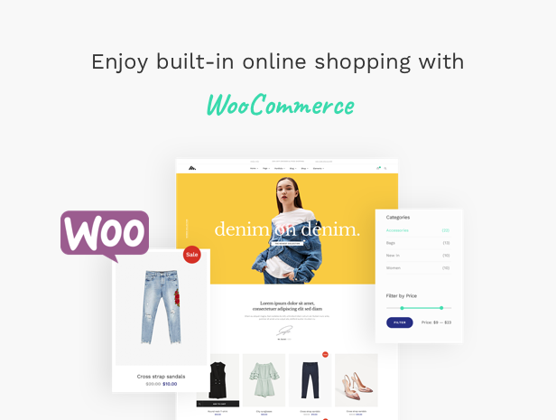 Corporate Business Agency WordPress Theme - Highly Powerful WooCommerce Shop