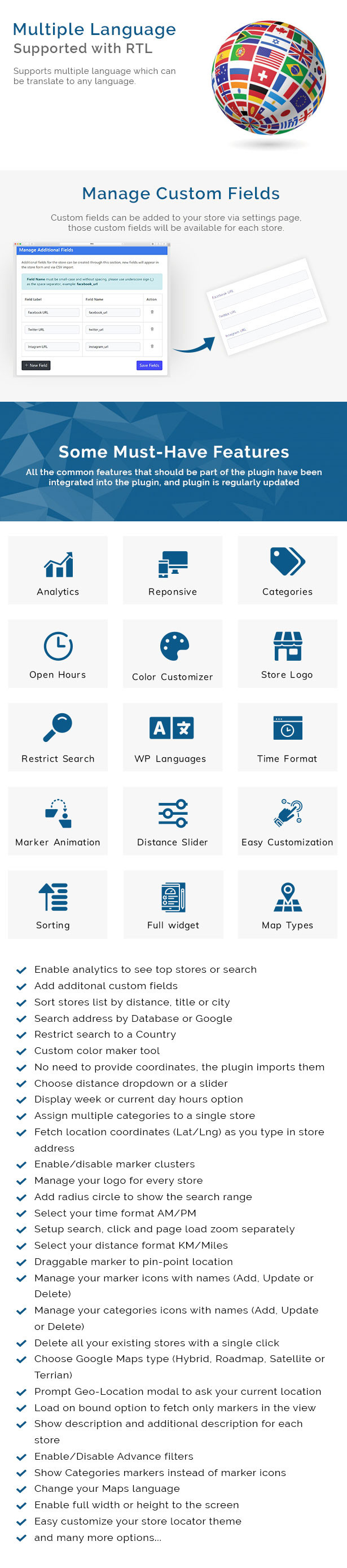 Store Locator (Google Maps) For WordPress - 11