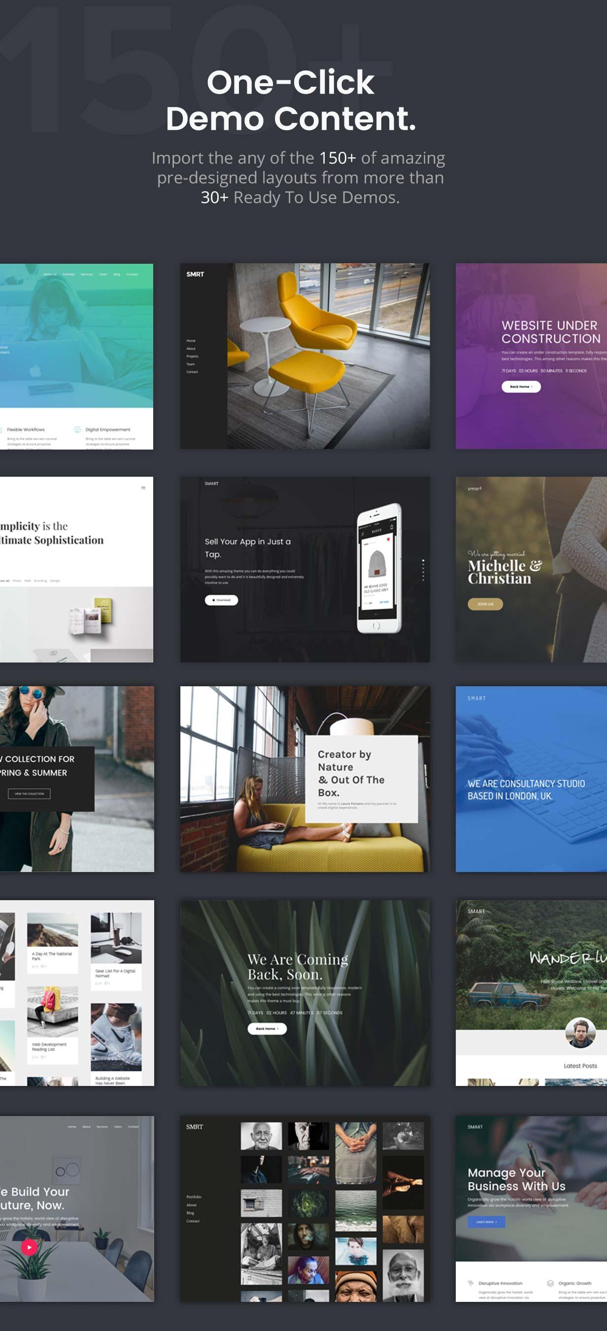 Smart — Responsive Multi-Purpose WordPress Theme - 2