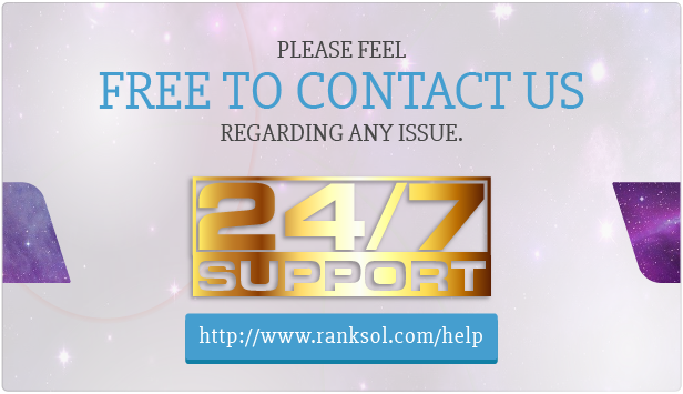 24/7 Customers Support / Feel Free To Contact Us Anytime