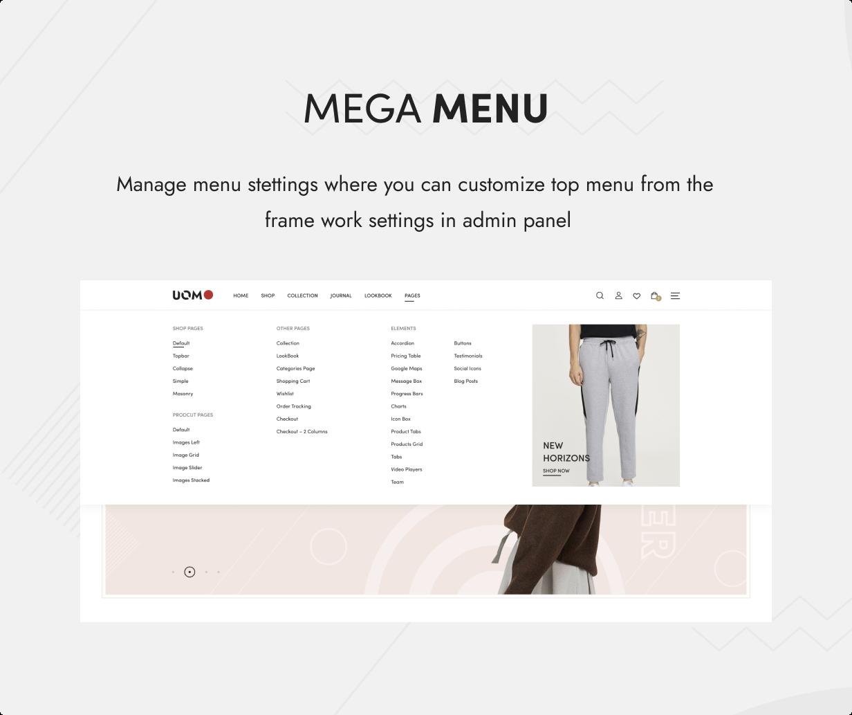 Uomo - Tema WordPress multipropósito para WooCommerce - 13