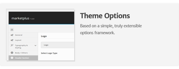 marketplus theme options