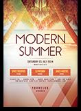 Modern Summer Flyer
