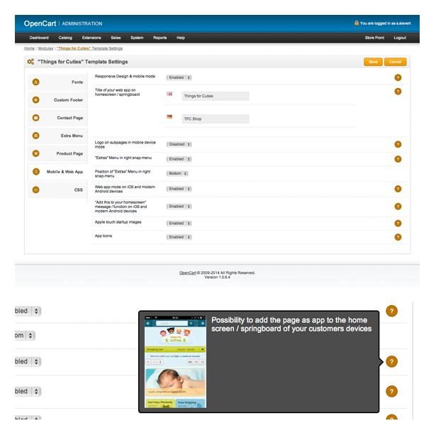 template admin panel