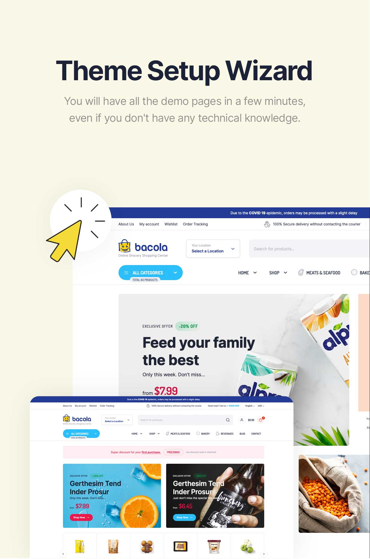 Bacola - Grocery Store and Food eCommerce Theme - 9