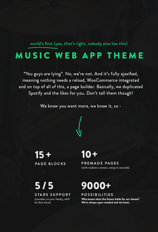 Sura - A Music Web App WordPress Theme - 7