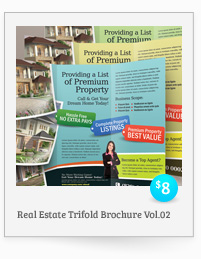 Real Estate Trifold Brochure Vol.02