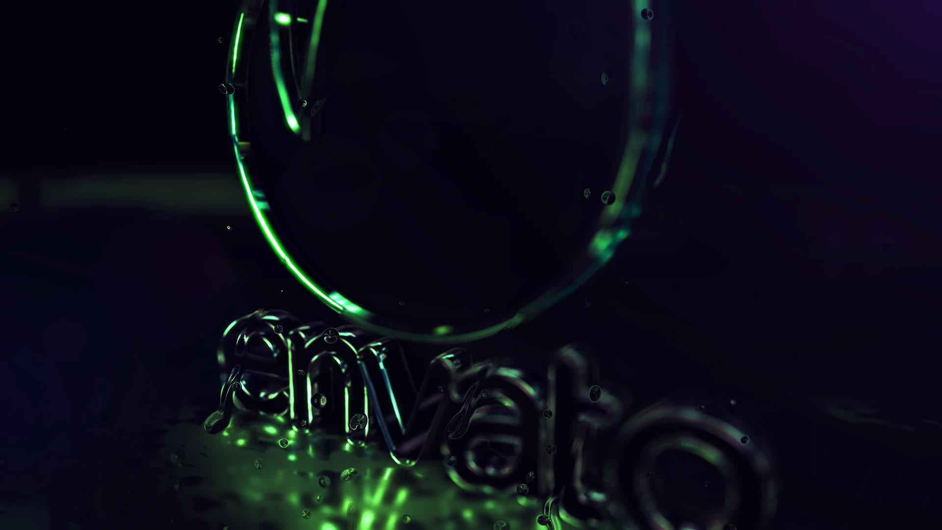 Cyber Neon logo - 3