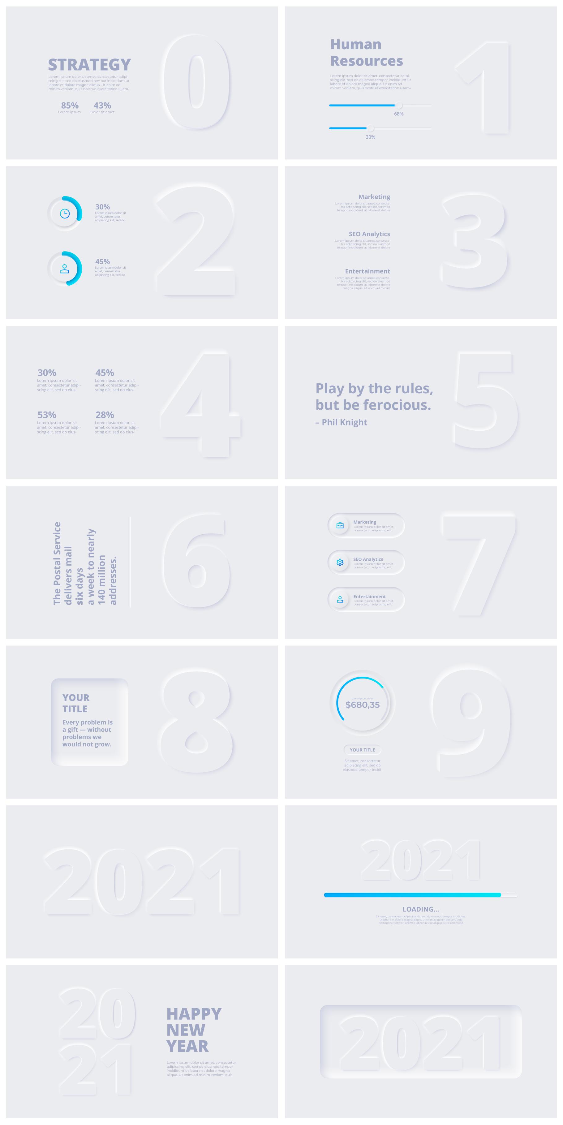 Multipurpose Infographics PowerPoint Templates v.5.0 - 57