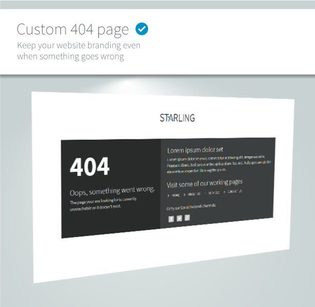 Starling | Multipurpose Adobe Muse Template - 20