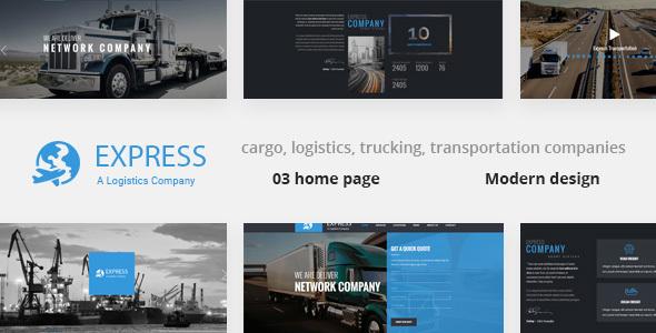 Express - Modern Transport & Logistics HTML Template