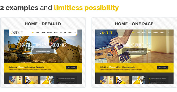 Construction, Building WordPress Theme – Konstruct - 1