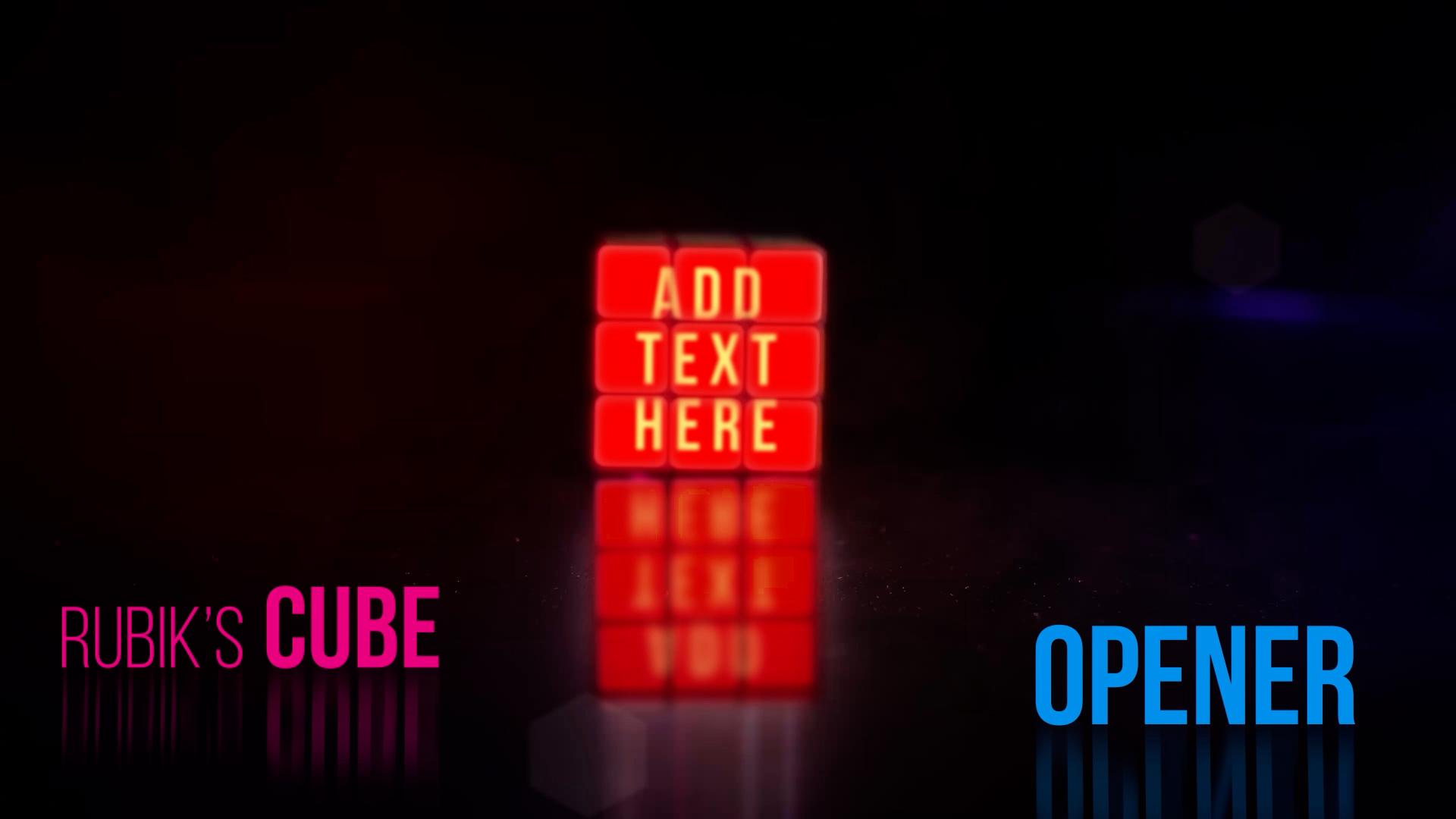 Rubik's Cube Logo Opener - 2