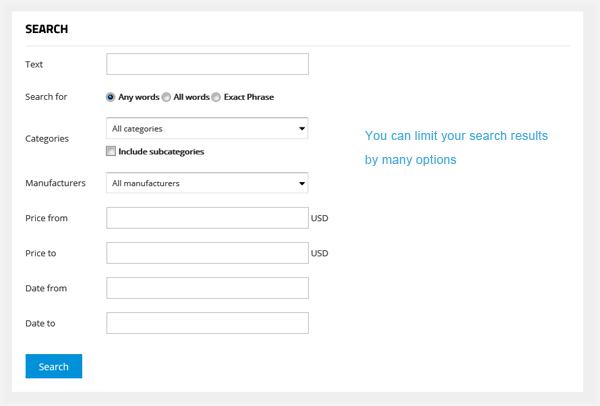 G2Shop - Advanced Shop Search