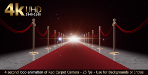 red carpet loop small