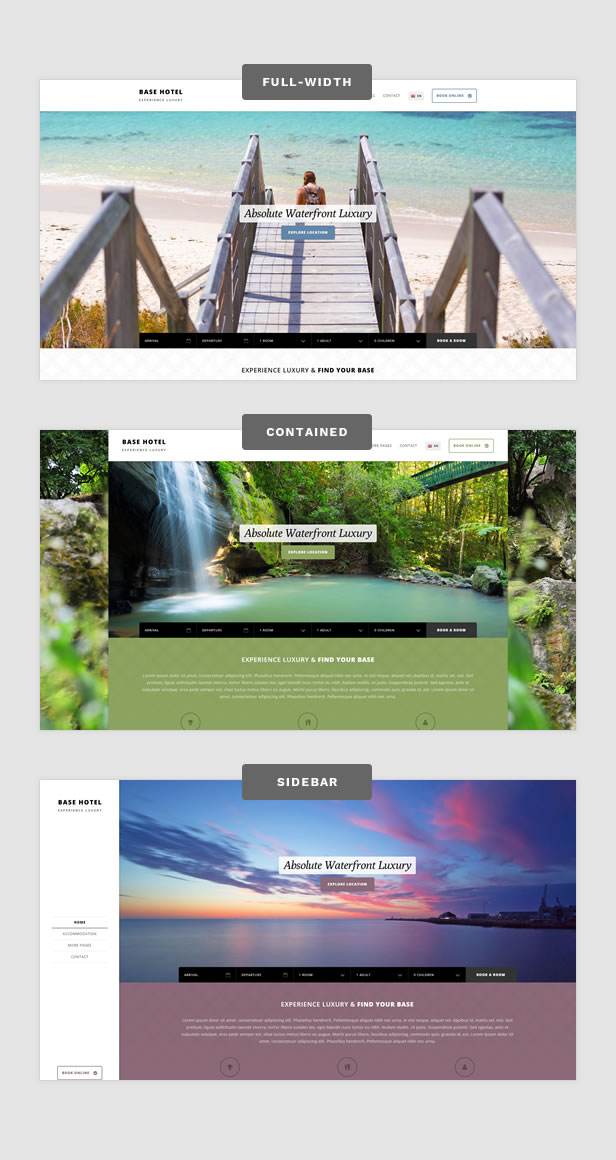 Base Hotel - HTML Template - 1