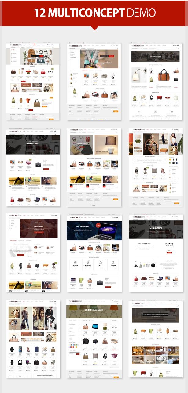 Nielsen - E-commerce WordPress Theme - 3