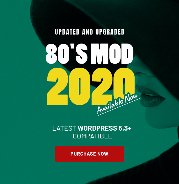 80's Mod - Build Your Store with A Vintage Styled WooCommerce WordPress Theme - 1