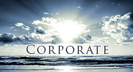 Energetic and strong corporate music.
