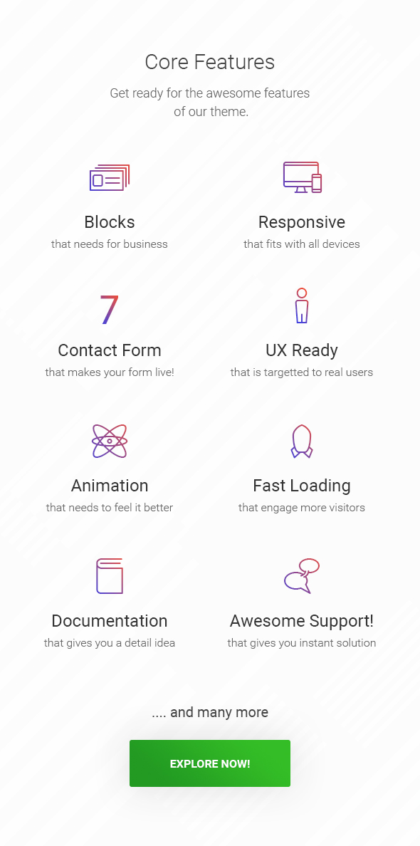 Shape - Business, Consultation & Finance WordPress Theme