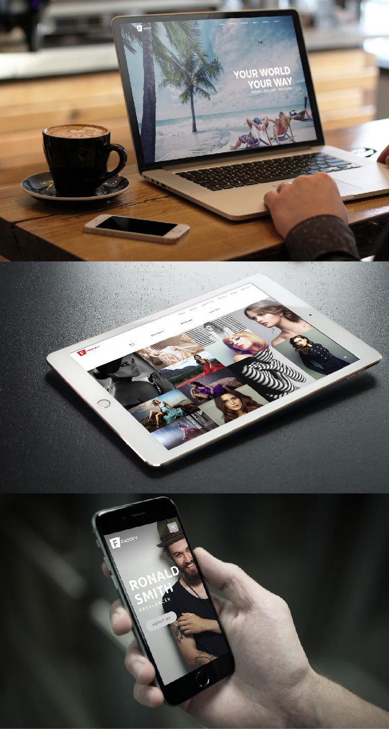 Froopy - One Page Responsive Multipurpose HTML5 - 4