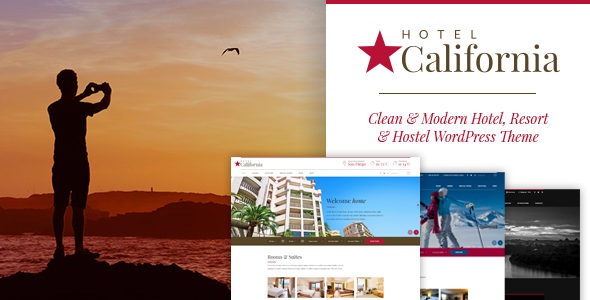 Hotel California - Hotel & Hostel Theme