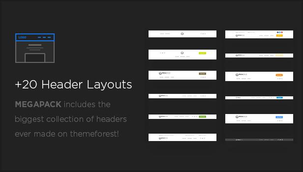 MEGAPACK – Marketing HTML Landing Pages Pack + PixFort Page Builder Access - 28