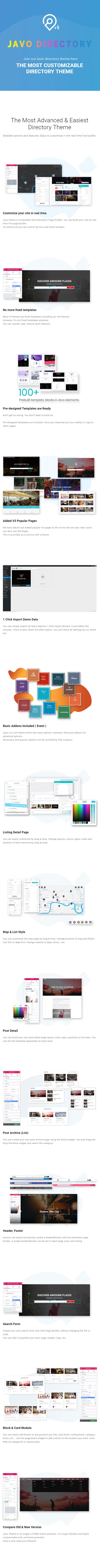 Javo Directory WordPress Theme - 2