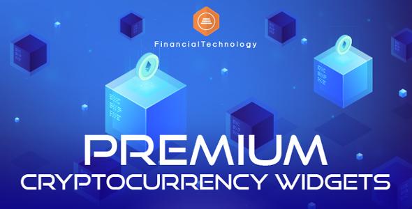 Premium Cryptocurrency Widgets