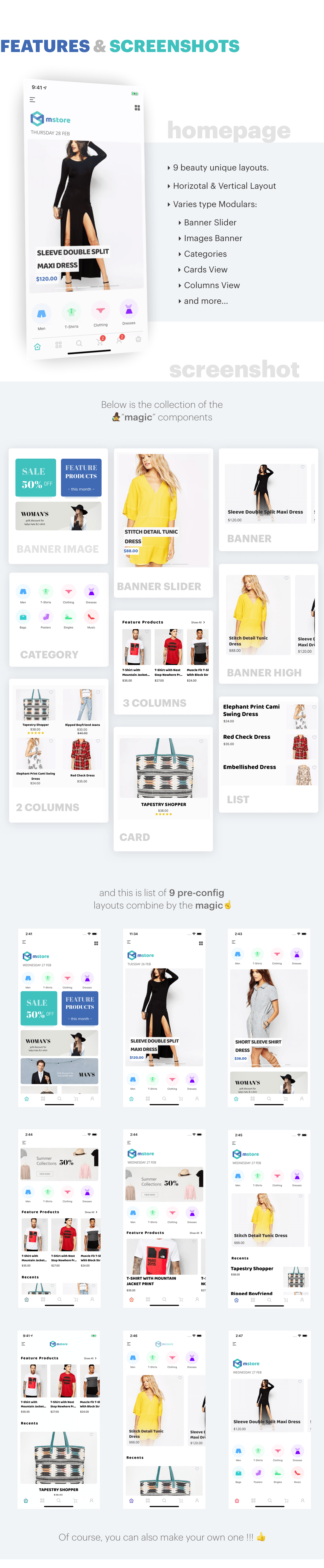 MStore Pro - Complete React Native template for e-commerce - 7