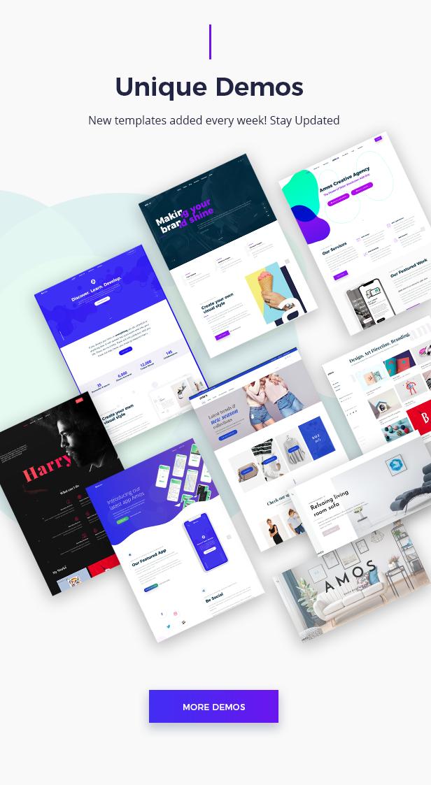 Amos - Tema WordPress Criativo para Agências e Freelancers - 4
