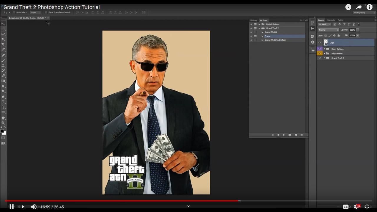 Grandiose 2 Photoshop Action - 4